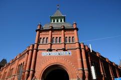 Saluhall, een handelscentrum in Stockholm stock afbeelding