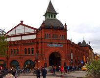 Saluhallmarkt, Stockholm Zweden Royalty-vrije Stock Afbeeldingen