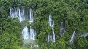 Salut cascade de Lo Su en Thaïlande Il est un beau et merveilleux Image stock
