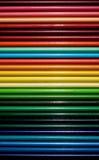 Salut crayons colorés par lustre Photos libres de droits
