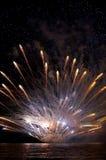 salut de célébration Photo stock