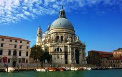 Salut de della Santa Maria de Di de basilique à Venise Photo stock