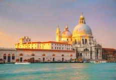 Salut de della Santa Maria de Di de basilique Photographie stock libre de droits