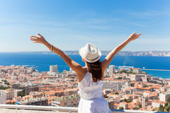 Salut Marseille! Royaltyfri Bild