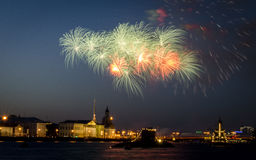 Salut in Saint-Petersburg Stock Photography
