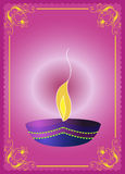 Salutation de Diwali Images libres de droits