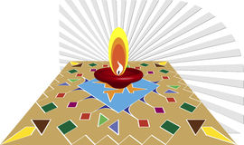 Salutation de Diwali Photos libres de droits