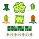 Salutation de jour de St Patricks illustration stock