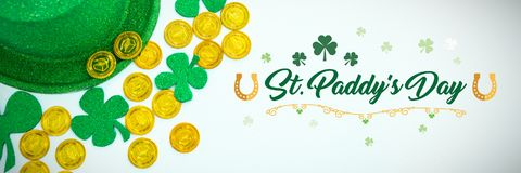 Salutation de jour de St Patricks illustration de vecteur