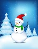 Salutation de Joyeux Noël Photo libre de droits