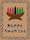 salutation de Kwanzaa Images libres de droits