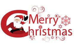 Salutation de Noël Images libres de droits
