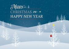 Salutation de Noël Photo stock