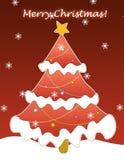 Salutation de Noël images stock