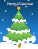 Salutation de Noël photos stock