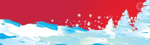 salutation de Noël de carte Image libre de droits