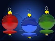 salutation de Noël de carte Images stock