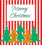 salutation de Noël joyeuse Images stock