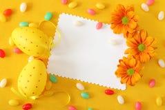 salutation de Pâques de carte Images stock