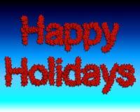 Salutation de vacances Photographie stock libre de droits