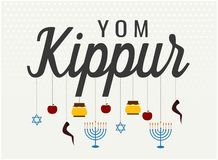 Salutation de Yom Kippour Photos libres de droits