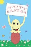Salutation drôle de Pâques photos stock
