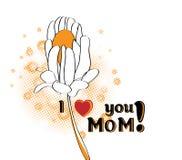 Salutation du jour de mère Photos libres de droits