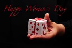 Salutation du jour des femmes Photo libre de droits