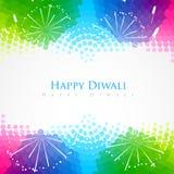 Salutation heureuse de diwali illustration de vecteur