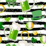Salutation heureuse de jour du ` s de St Patrick Illustration Libre de Droits