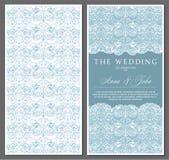 Salutation, invitation, mariage, carte dans le style de vintage, le baroque, rococo, la Renaissance illustration stock