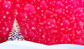 Salutation-vecteur de Noël Image libre de droits
