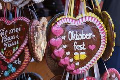 Salutations d'Oktoberfest images libres de droits