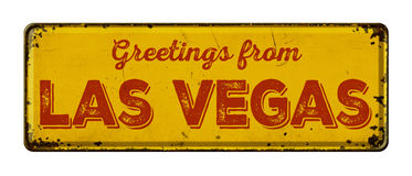 Salutations de Las Vegas photos stock