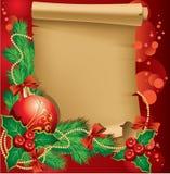 Salutations de Noël Image libre de droits