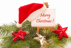 Salutations de Noël Photos stock