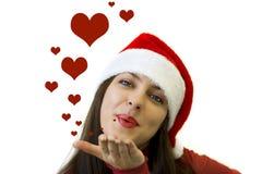 salutations de Noël Images libres de droits