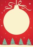 Salutations de Noël images stock