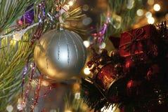 Salutations de Noël, fond de fête pour les images Image stock