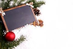 Salutations de Noël - votre texte Photo libre de droits
