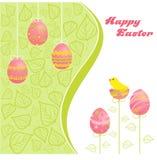 Salutations de Pâques Photographie stock libre de droits