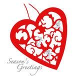 Salutations de saisons images libres de droits