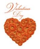 Salutations de Valentines Photo libre de droits