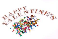 Salutations de valentines photos stock
