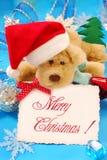 Salutations douces de Noël Photo libre de droits