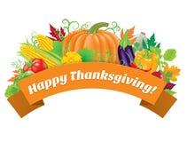 Salutations heureuses de thanksgiving Image libre de droits