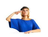 Salute! Royalty Free Stock Image