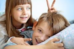 Salute, bellezza e concetto di infanzia Fotografia Stock Libera da Diritti
