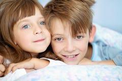 Salute, bellezza e concetto di infanzia Immagine Stock