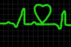 Salute del cuore Immagini Stock